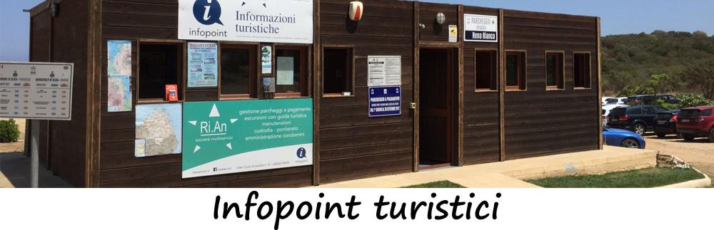 Infopoint turistici nel sud sardegna