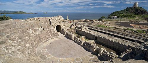 Sito archeologico di Nora a Pula