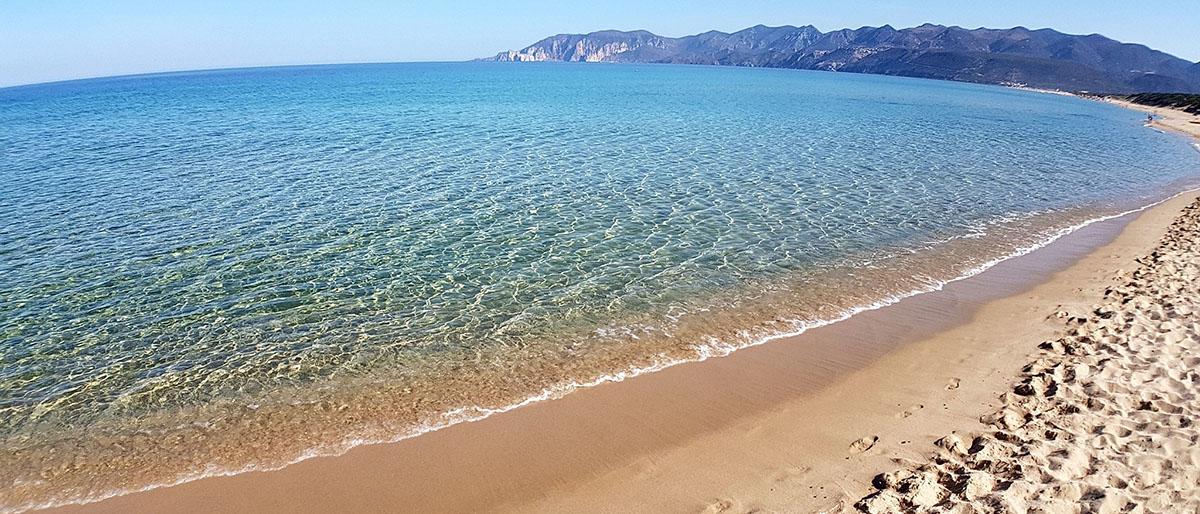 Spiaggia di Porto Paglia a Gonnesa