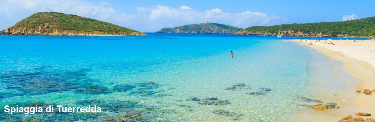 Spiaggia di Tuerredda Teulada Sardegna