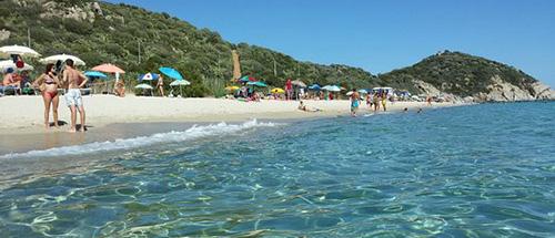 Spiaggia di Campus a Villasimius
