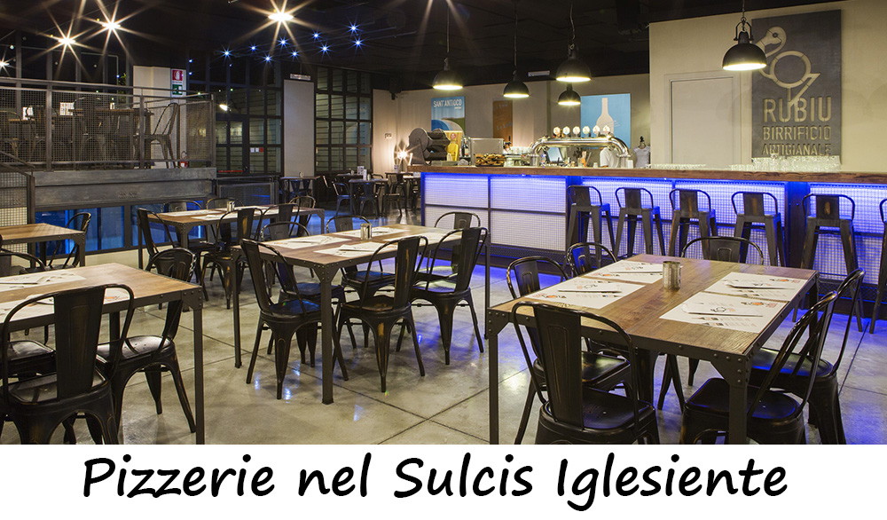 Pizzerie nel Sulcis Iglesiente