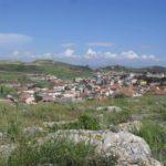 Panoramica città di Serrenti