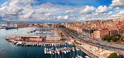 Portus Karalis porto a Cagliari
