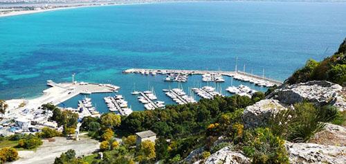 Marina Piccola porto di Cagliari